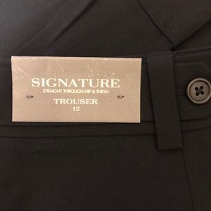 NWT Ann Taylor Signature Black Trouser